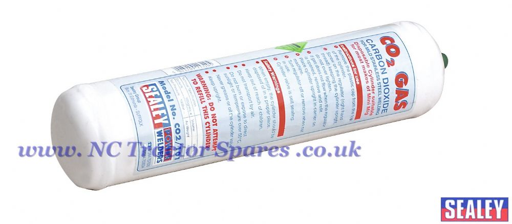 Gas Cylinder Disposable Carbon Dioxide 600g